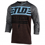 Dres na kolo TroyLeeDesigns Ruckus Jersey Bolt Heather Dark Moka / Heather Gray 2019