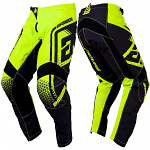 MX kalhoty ANSWER Syncron Pant Drift Hyper Acid Black 2019