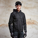 Bunda na kolo Leatt DBX 4.0 All-Mountain Jacket Black 2019