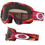 Dětské brýle Oakley XS Oframe TroyLeeDesigns Reflection Orange Purple Goggle