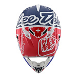 MX helma TroyLeeDesigns SE4 Polyacrylite Factory White Blue 2019