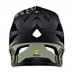 Enduro helma TroyLeeDesigns Stage Stealth Helmet Black Stone Gray 2019