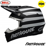 MX helma BELL Moto-9 MIPS Fasthouse Signia Black 2020 + brýle zdarma