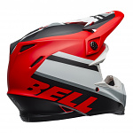 MX helma BELL Moto-9 MIPS Prophecy Matte White Red Black 2020 + brýle zdarma