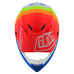 MX helma TroyLeeDesigns SE4 Composite Mirage Blue Red 2020 + brýle zdarma