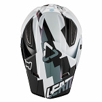 MX helma Leatt GPX 5.5 Composite V19.2 White Black 2019