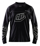 Pánský dres TroyLeeDesigns Adventure Jersey Black