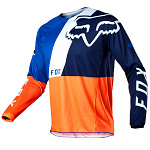Pánský MX dres FOX 180 Lovl Jersey Orange Blue 2020