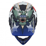 MX helma TroyLeeDesigns SE4 Carbon Liberty Red White Blue 2020 + brýle zdarma