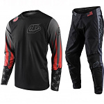 MX komplet TroyLeeDesigns GP Liberty Black Gray Set 2020