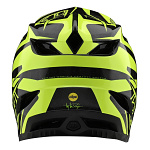 Downhill helma TroyLeeDesigns D4 Carbon Helmet MIPS Slash Black Yellow 2020