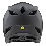 Downhill helma TroyLeeDesigns D4 Composite Helmet MIPS Stealth Black Gray 2020