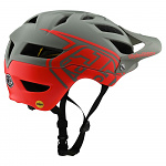 MTB helma TroyLeeDesigns A1 Helmet MIPS Classic Orange Gray 2020