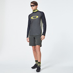 Pánský dres na kolo Oakley MTB LS Tech Tee New Dark Brush 2020