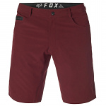 Pánské kraťasy FOX Machete TECH Short Heather Red