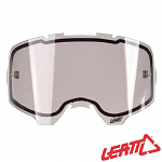 Dvojité šedé sklo LEATT Velocity Lens Light Grey Dual