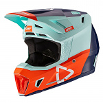 MX helma Leatt Helmet Kit Moto 7.5 V21.2 Ice 2021
