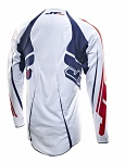 Dres JT Racing Evolve Lite Jersey White Blue Red 2013