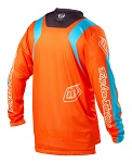 Dres TroyLeeDesigns GP AIR Jersey Mirage Blue Orange 2013