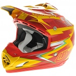 MX helma TroyLeeDesigns SE3 Lite Cyclops Red Yellow