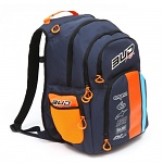 Batoh BudRacing BackPack Race Navy Orange