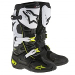 Boty na motokros Alpinestars TECH 10 Boot Black White
