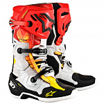 Boty na motokros Alpinestars TECH 10 Indianapolis Black Red Yellow Limited Edition