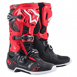 Boty na motokros Alpinestars TECH 10 Red Black 2021