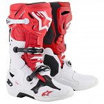 Boty na motokros Alpinestars TECH 10 Red White Black 2020