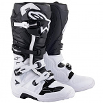 Boty na motokros Alpinestars TECH 7 Boot White Black 2021