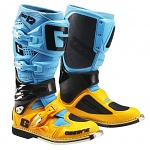 Boty na motokros enduro Gaerne SG12 Boots Orange Blue Limited Edition 2018