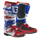 Boty na motokros enduro Gaerne SG12 Boots White Red Blue Limited Edition 2017