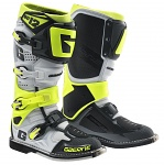Boty na motokros enduro Gaerne SG12 Boots White Yellow Grey Limited Edition 2019