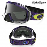 Brýle Oakley Crowbar TroyLeeDesigns Discharge Purple