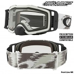 MX brýle Oakley Front Line MX Matte White Speed Goggle