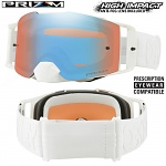 Brýle Oakley Front Line Prizm MX Factory WhiteOut Goggle