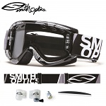 Brýle s dvojitým sklem Smith Fuel V.1 Max Enduro Black Silver Static Dual Clear Lens