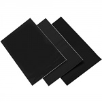 Černá folie Factory Effex Backgrounds Sheets Black 3 pcs