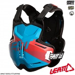 Chránič hrudi a zad Leatt 2.5 ROX Chest Protector Blue Red