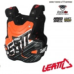 Chránič hrudi a zad Leatt Adventure LITE Chest Guard Shox Orange
