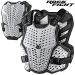 Chránič hrudi a zad TroyLeeDesigns RockFight Chest Protector White