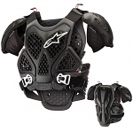 Chránič hrudi Alpinestars Bionic Chest Protector Black Grey
