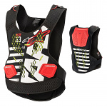 Chránič hrudi Alpinestars Sequence Chest Protector Black White Red