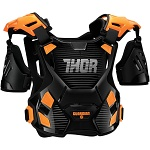 Chránič hrudi THOR Guardian Black Orange