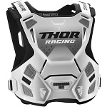 Chránič hrudi THOR Guardian MX White Black