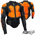 Chránič těla kompletní FOX Racing Titan Sport Jacket Black Orange 2018