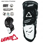 Chrániče kolen Leatt Knee Guard 3DF Hybrid White Black