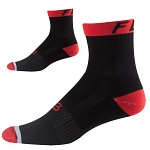 "Cyklo ponožky FOX 6"" Trail Sock Flame Red"