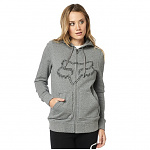 Dámská mikina FOX Girls Barstow Zip Hoody Heather Graphite
