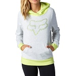 Dámská mikina FOX Girls Constant Pullover Hoody Light Heather Grey